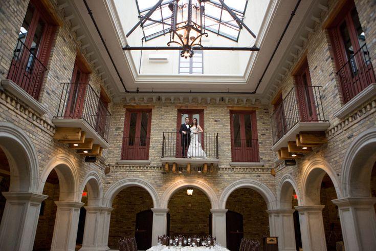 Hacienda Sarria bride and groom