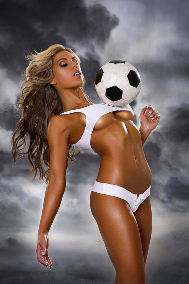 from Valentino hot sexy naked ladies playing soccer
