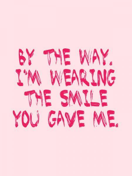 Valentine love quote via Flair.be