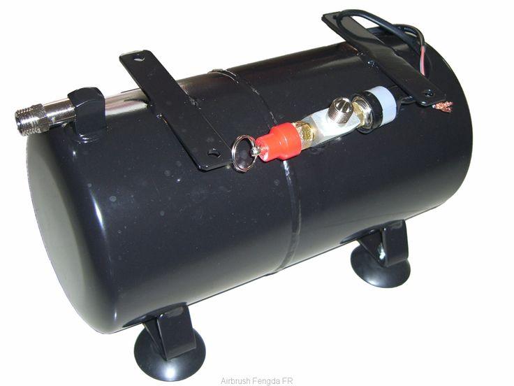 Pièce détachée pour les compresseurs: pot de pression complet aérographe