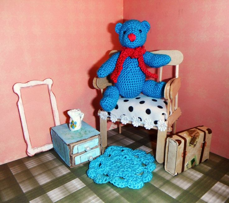 медведь мишка игрушки вязаные амигуруми