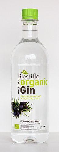 Biostilla Premium organic Gin aus Südtirol