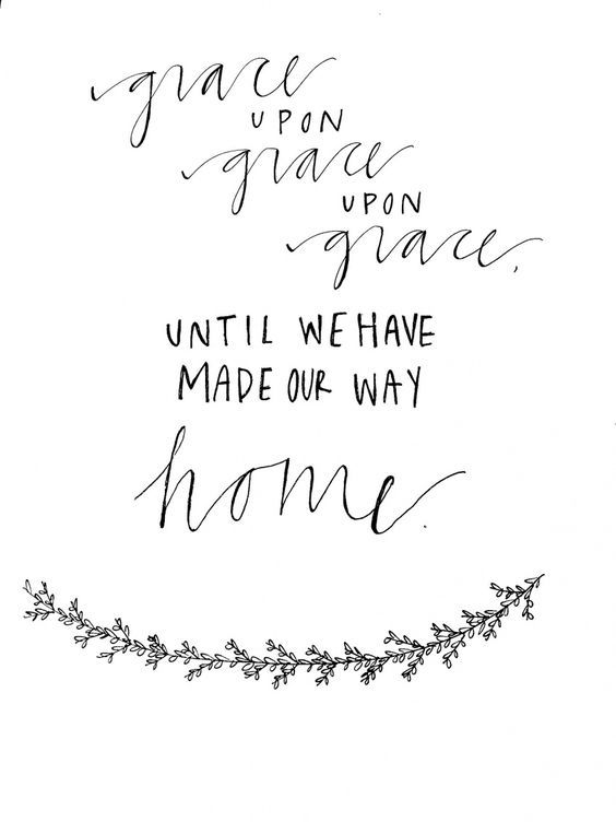 Until we have made our way home.