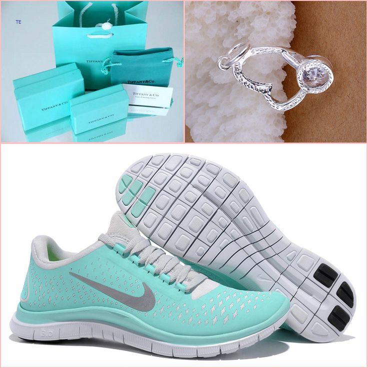 Nike Free 3.0 V4 Womens Tiffany Blue Great New Tiffany CO Bracelet