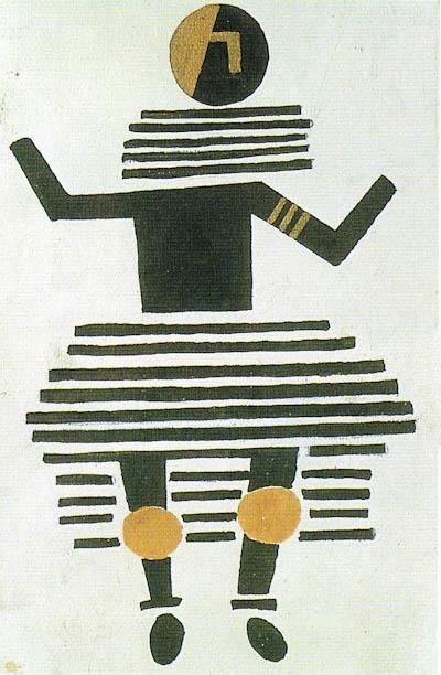 Fernand Leger – La creation du monde - costume de femme 1923