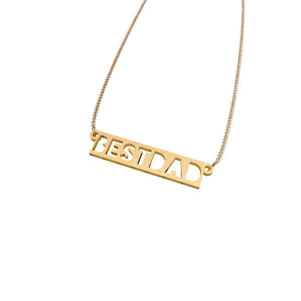 Zazzy Best Dad Necklace