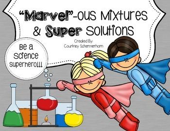 Mixtures & Solutions Mini-Unit for Upper Grades - FREE for a limited time!!!