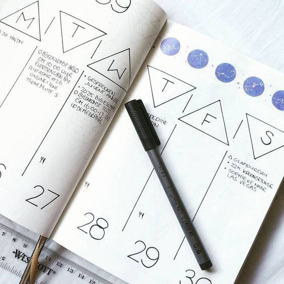 25 Bullet Journal Ideas and Layouts Start with a few banner styles. There's plenty of options for banners! Yet more banners. A lovely way to keep track of birthdays. How many books can you track? Here's some simple colorful banners. A great setup for a week at a glance! Nice layout for goals, tracking, daily …