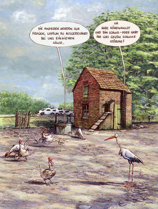 Bauernhof - MARUNDE | Cartoons & Illustrationen von Wolf-Rüdiger Marunde