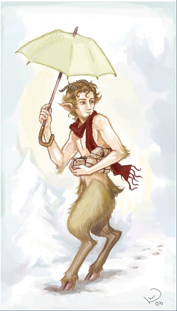 According to C.S. Lewis, his first vision of the Narnia tales came in the form of Mr. Tumnus.