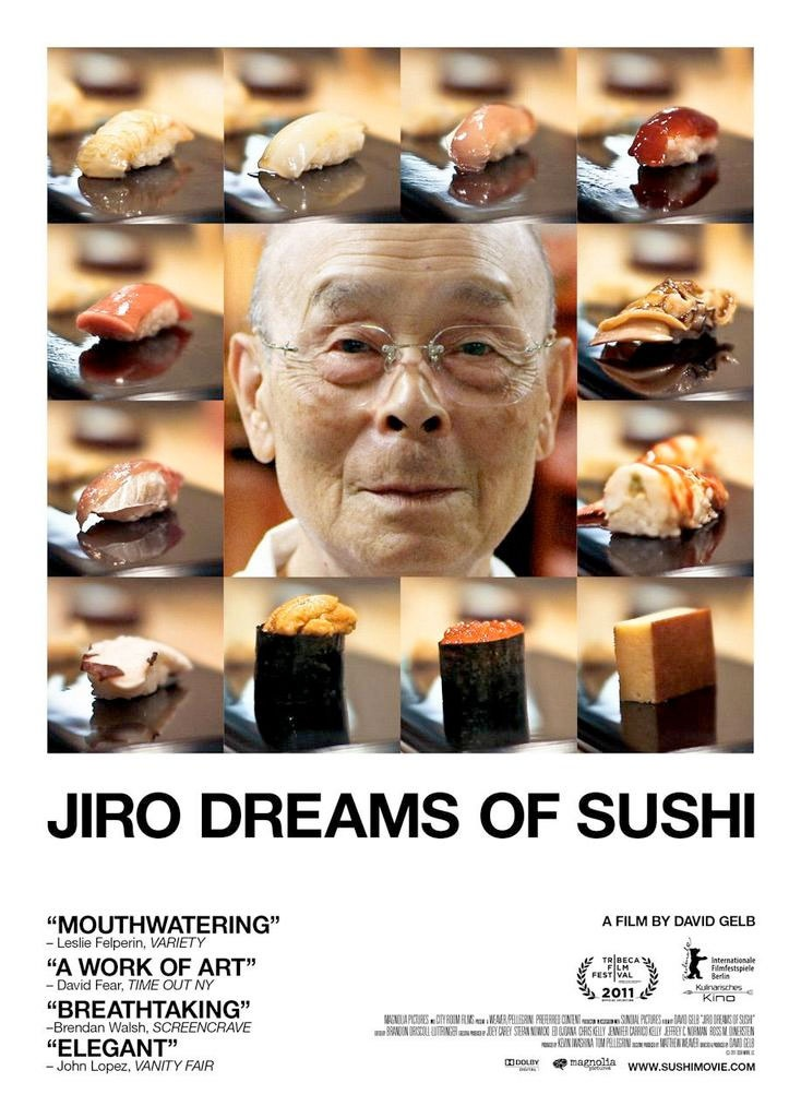 jiro dreams of sushi, director david gelb