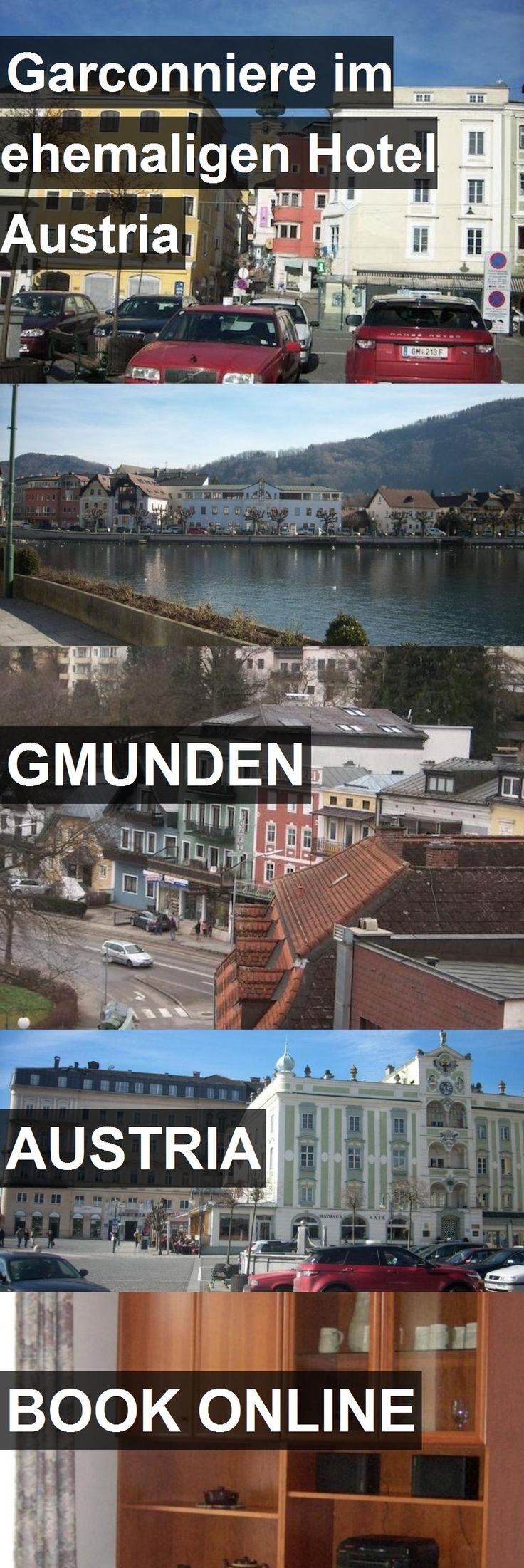 Garconniere im ehemaligen Hotel Austria in Gmunden, Austria. For more information, photos, reviews and best prices please follow the link. #Austria #Gmunden #travel #vacation #hotel