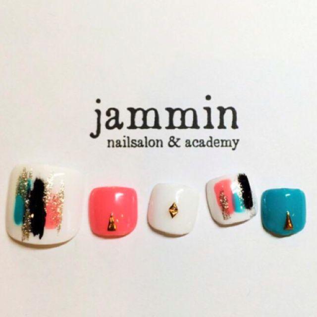ネイル 画像 nailsalon&academy jammin 牛田 985411