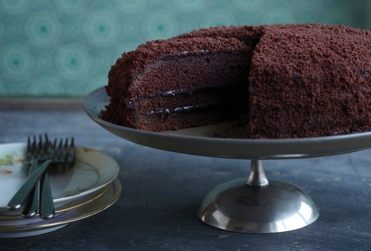 Brooklyn Blackout Cake Recipe | Food Republic (will make this cake with champagne for added deliciousness)