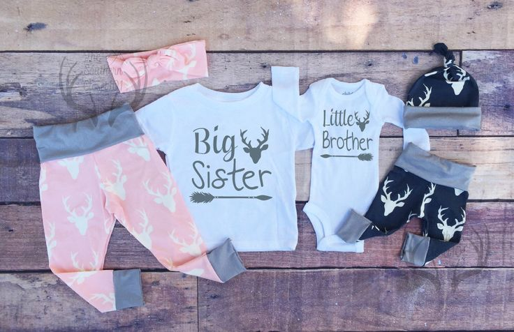 Big Sister Little Brother Outfits, Baby Coming Home Outfit Set,Country Outfits, Gils Pink Deer,Boys Navy Blue Deer, Sister Brother Outfits by TheSouthernCloset101 on Etsy https://www.etsy.com/listing/463567852/big-sister-little-brother-outfits-baby