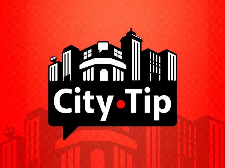 Citytip app logo by Sergio Galán