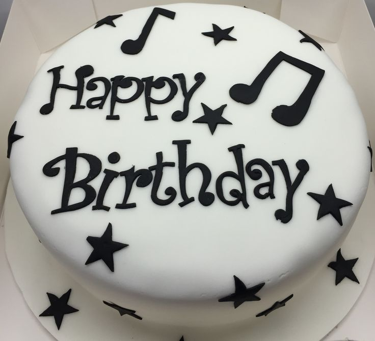 Best 25+ Music Birthday Cakes Ideas On Pinterest