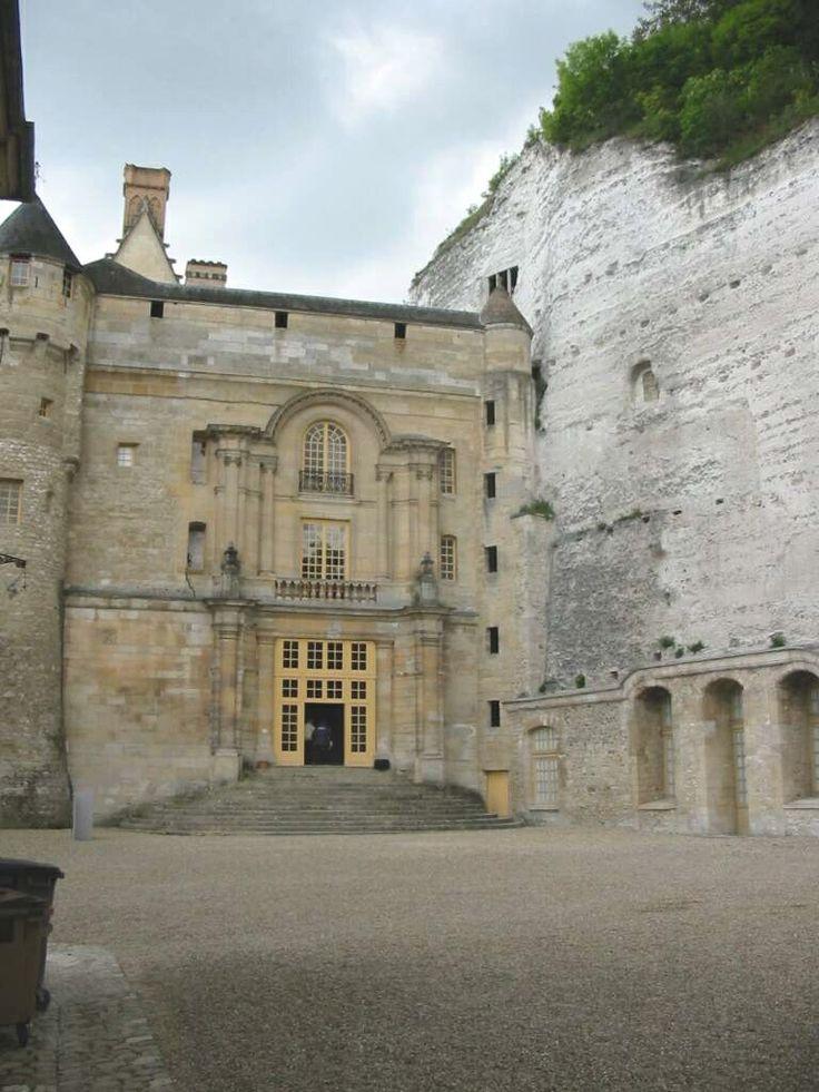 France -- Val d'oise -- Château de La Roche-Guyon
