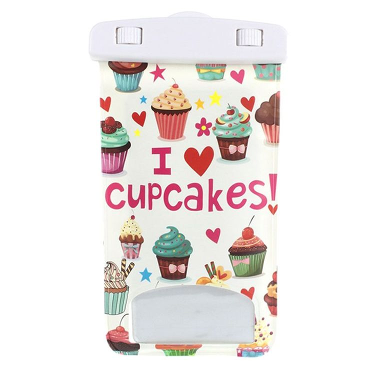 Universal Vandtæt Taske - Cupcakes