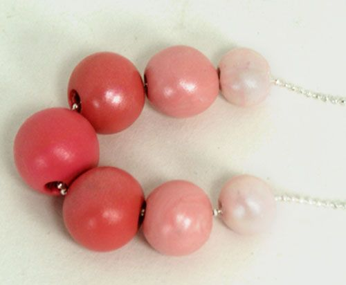 Polymer Clay Gumball Necklace tutorial from Saved by Love Creations