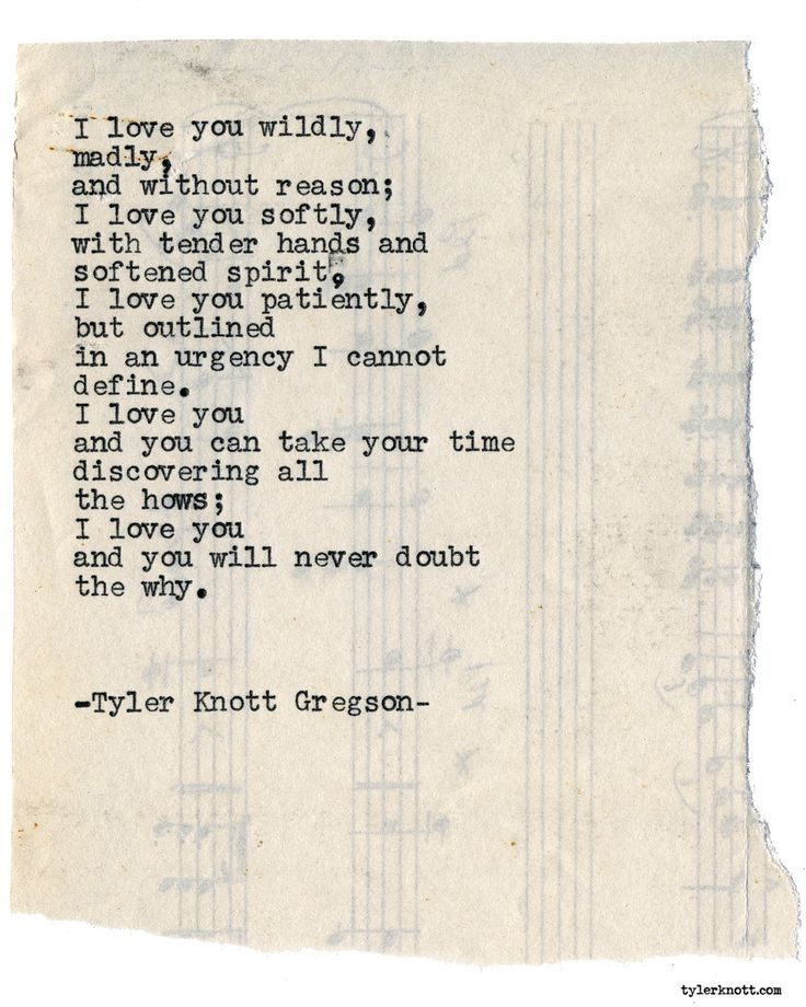 Typewriter Series #1965 by Tyler Knott Gregson Check out my Chasers of the Light Shop! chasersofthelight.com/shop