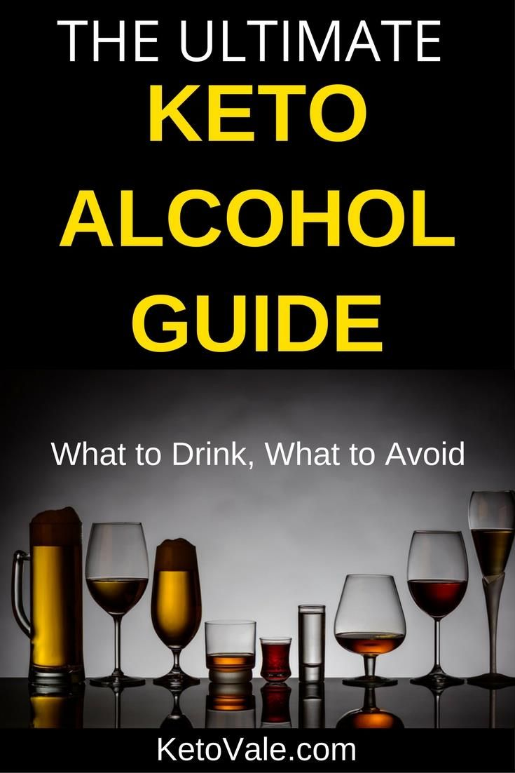The Ultimate Alcohol Guide on Low Carb Ketogenic Diet ...