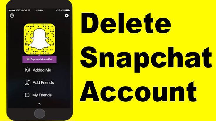 How to delete Snapchat account Permanently 2017 on Android and Iphone https://youtu.be/Bn-OoZ2Sm7s
