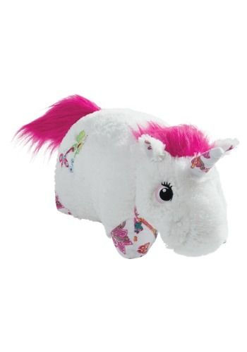 White Unicorn Pillow PetUnicorn Pet
