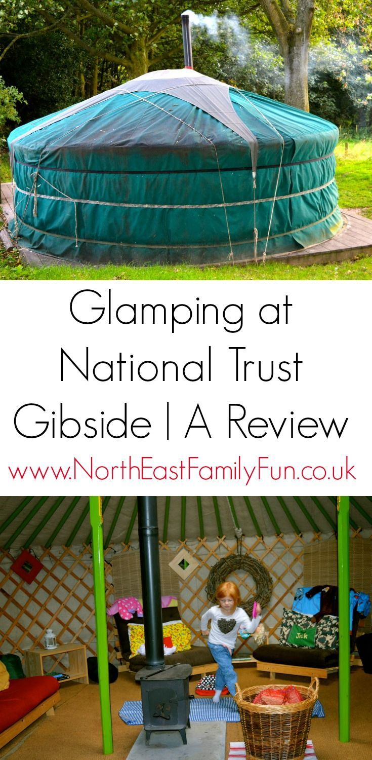 Westwood Yurts | Glamping at National Trust Gibside, County Durham - A Review