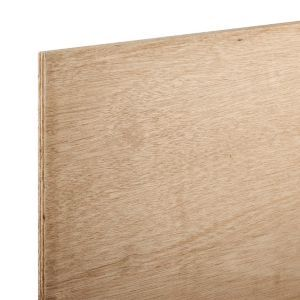 Hardwood Plywood Th 12mm W 607mm L 1220mm Pack Of 3 Hardwood Plywood Marine Plywood Construction Materials