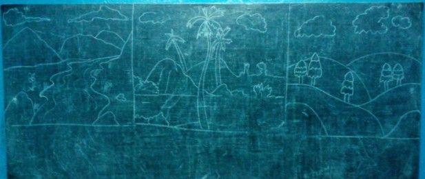 Drawing Class @ Manju Kayal Foundation Aug'2014
