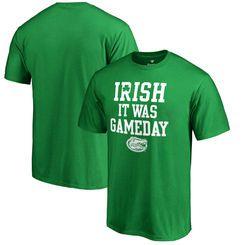 Florida Gators Fanatics Branded St. Patrick's Day Irish It Was Gameday T-Shirt - Kelly Green