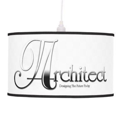 Architect Hanging Lamp - architect gifts architects business diy unique create your own