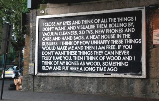 Urban Poetry By Robert Montgomery