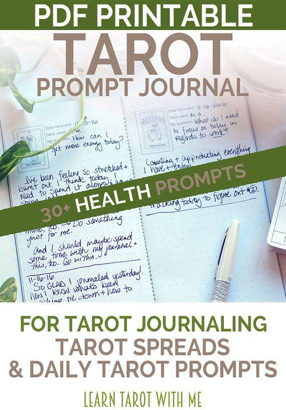 Learn tarot lovers notebook