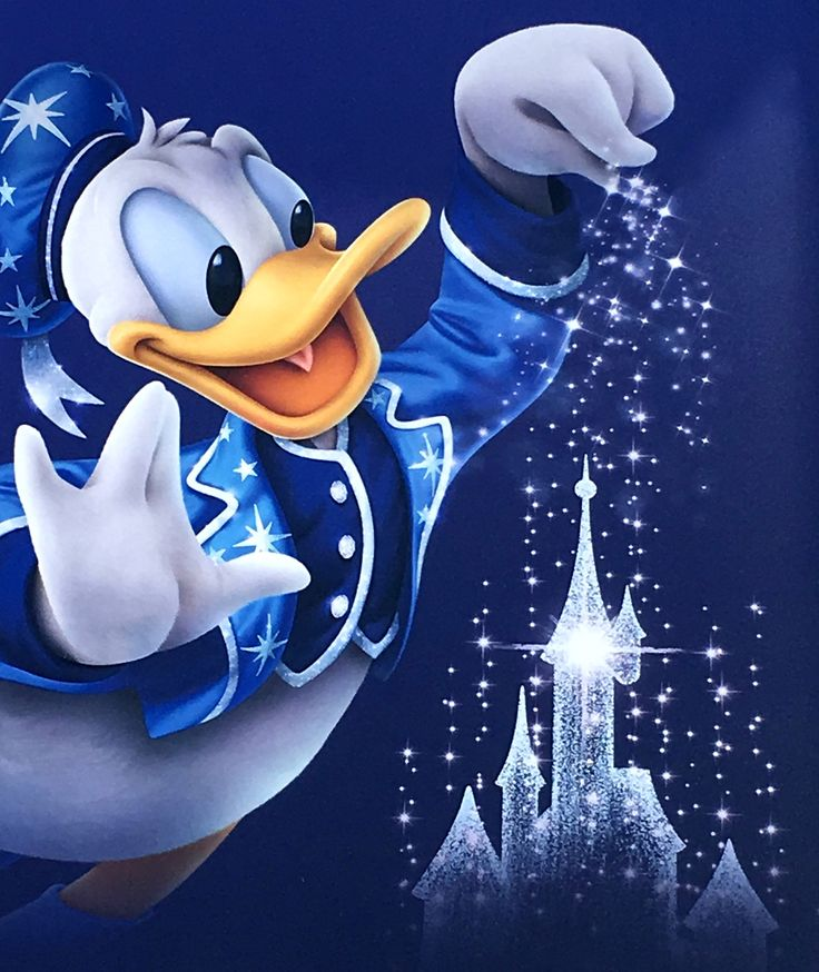I  Donald Duck!