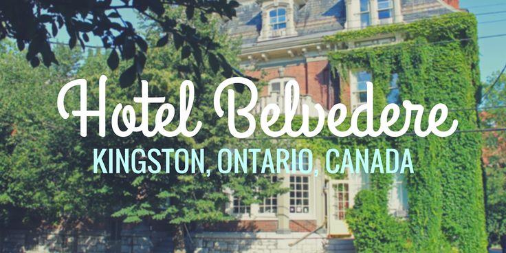 Charming and Historic Hotel Belvedere in Kingston, Ontario #travel #ontario #canada #wanderlust http://justinpluslauren.com/hotel-belvedere-in-kingston/?utm_campaign=crowdfire&utm_content=crowdfire&utm_medium=social&utm_source=pinterest