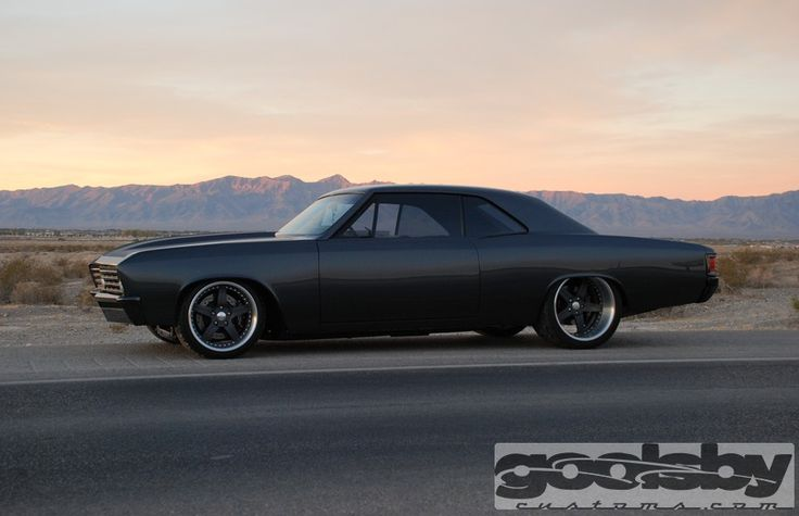 1967 Chevelle...Blacked out just the way I like my rides!