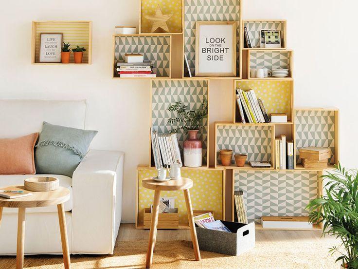 Φτιάξτε Μόνοι σας σε 10 Λεπτά την πιο Όμορφη Βιβλιοθήκη!