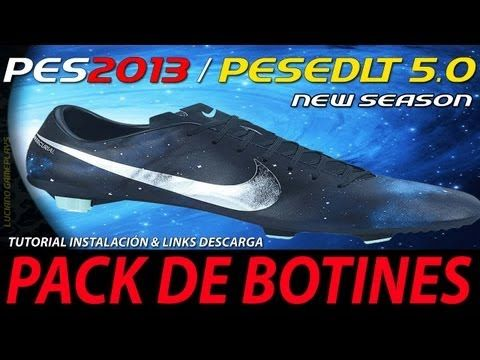 PES 2013 Pack Botines / Mercurial Vapor IX CR7 Tutorial Instalación & Li...