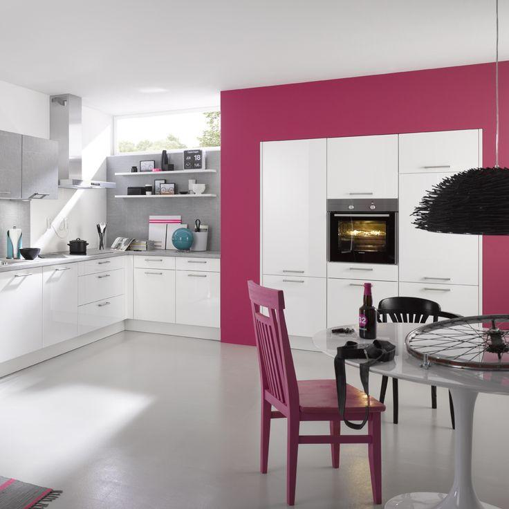 51 best Candy Küche images on Pinterest | Kitchen, Pink kitchens ... | {Pinke küche 21}