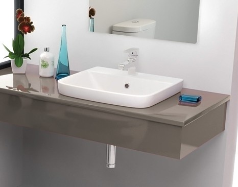 Porcher Cygnet Semi Inset Basin Bathrooms Pinterest