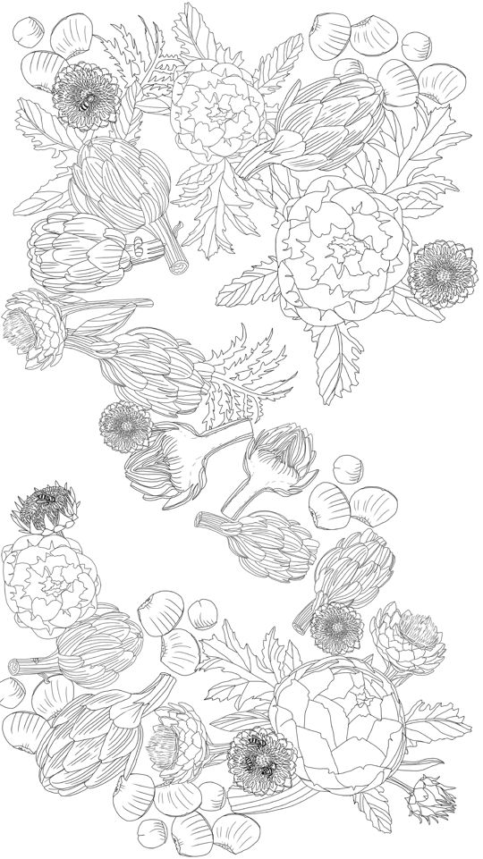 A Printable Adult Coloring Page