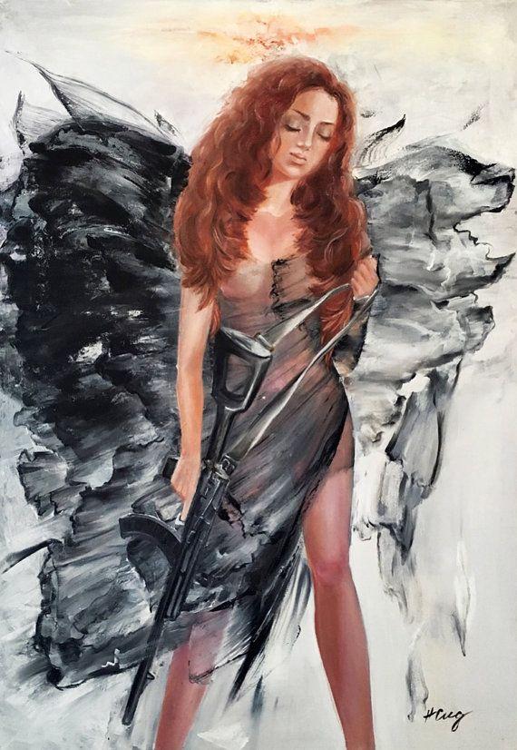 Italian Body oil painting on finest italian di NatalieCugArt