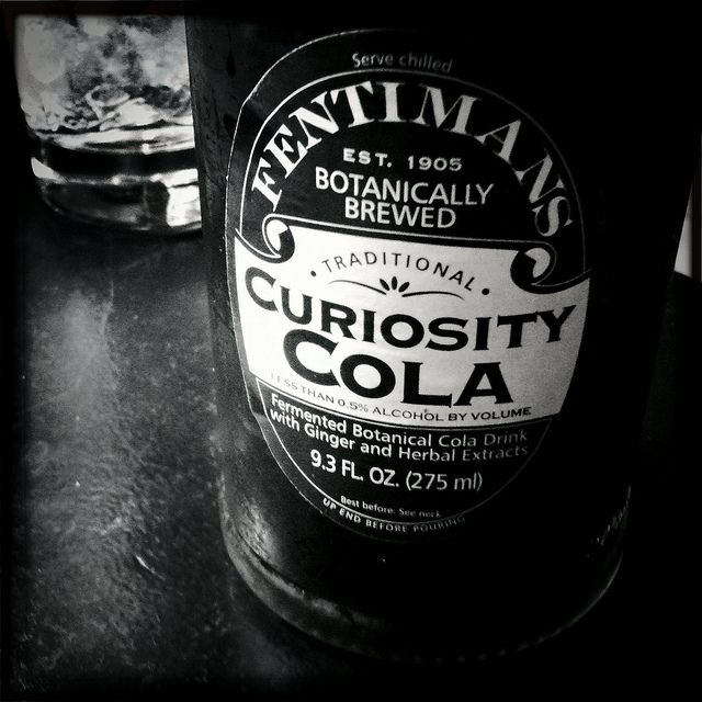 The MOST delicious cola you will ever drink -- and it comes with a cool label -- Fentimans Curiosity Cola