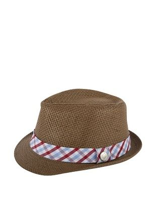 21% OFF Andy & Evan Boy's Check Fedora (Red)