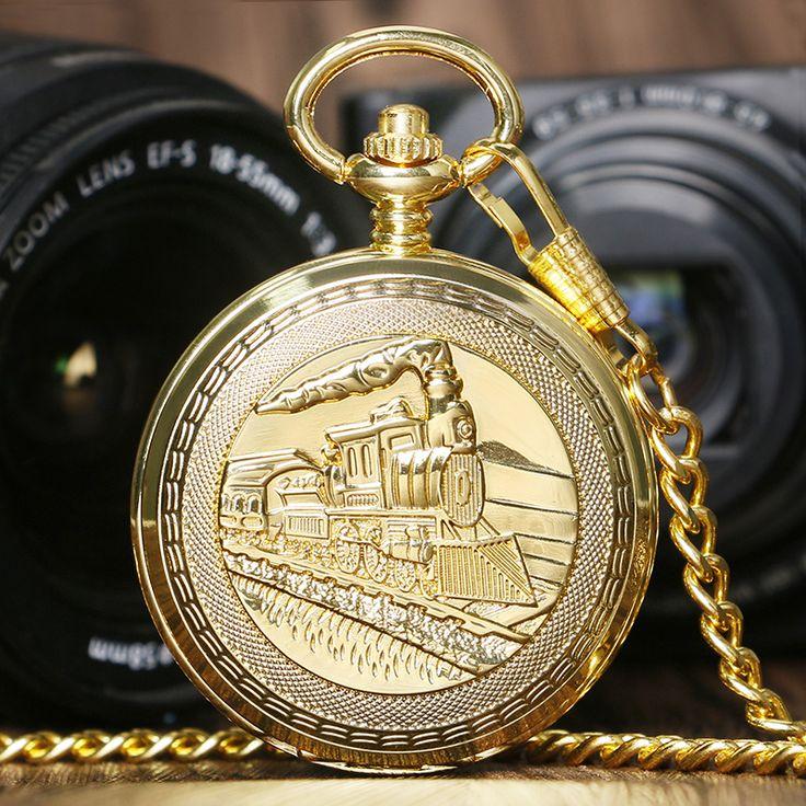 $12.95 (Buy here: https://alitems.com/g/1e8d114494ebda23ff8b16525dc3e8/?i=5&ulp=https%3A%2F%2Fwww.aliexpress.com%2Fitem%2FGolden-Luxury-Vintage-Retro-Train-Locomotive-Engine-Design-Mechanical-Hand-Wind-Pocket-Watch-Double-Hunter-Men%2F32674573340.html ) Golden Luxury Vintage Retro Train Locomotive Engine Design Mechanical Hand Wind Pocket Watch Double Hunter Men Women Gift P1036C for just $12.95