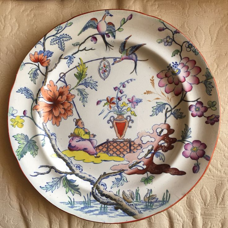 English Dresden chinoiserie & 30 best Chinoiserie Tableware and Place Setting images on Pinterest ...