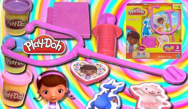 Play Doh  Doc McStuffins  Doctor Kit Playset 2014 Feat. Lambie Stuffy Disney Junior from Rainbow Toys TV https://youtu.be/8XDs8Ne5F28?list=PLDogJfx3GEGLP5wPCY1no87EidOppjZva