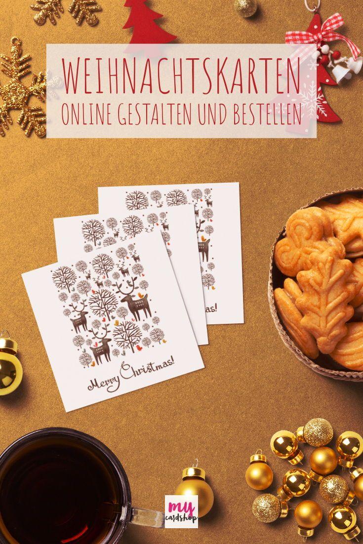 Individuelle Weihnachtskarten.Individuelle Weihnachtskarten In Wenigen Minuten Bei Mycardshop
